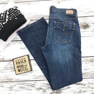 Levi's 526 Slender Boot Cut Jeans